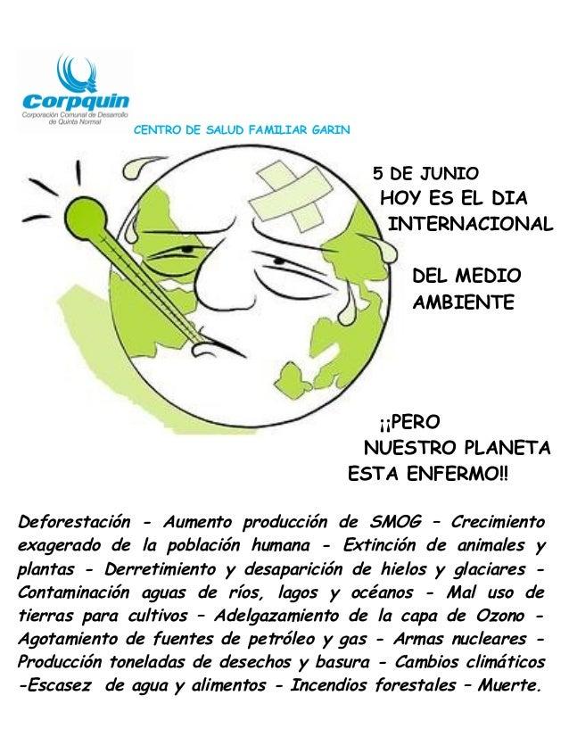CENTRO DE SALUD FAMILIAR GARIN5 DE JUNIOHOY ES EL DIAINTERNACIONALDEL