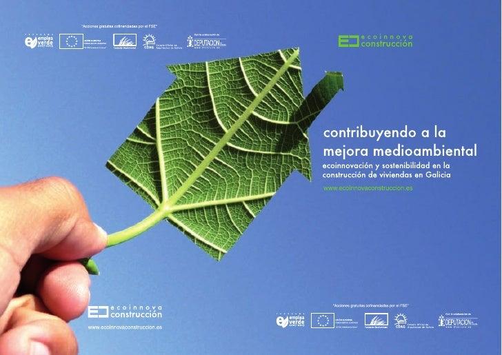 Folleto presentación proyecto ecoinnova construcción