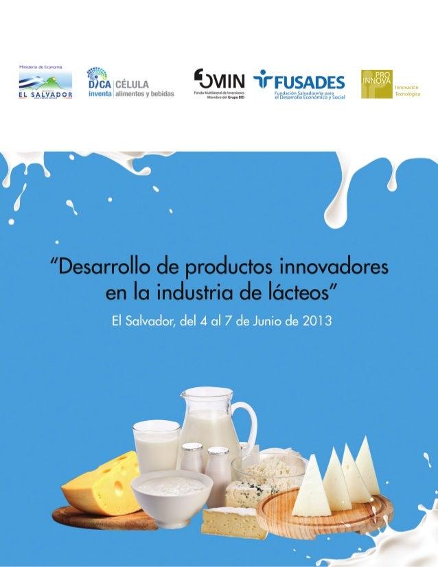Desarrollo de productos innovadores en la industria de lacteos