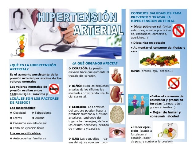 Follet: Alimentación en la Hipertensión arterial