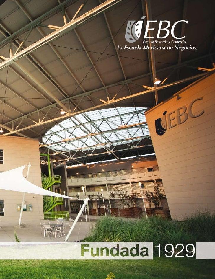Folleto Institucional EBC