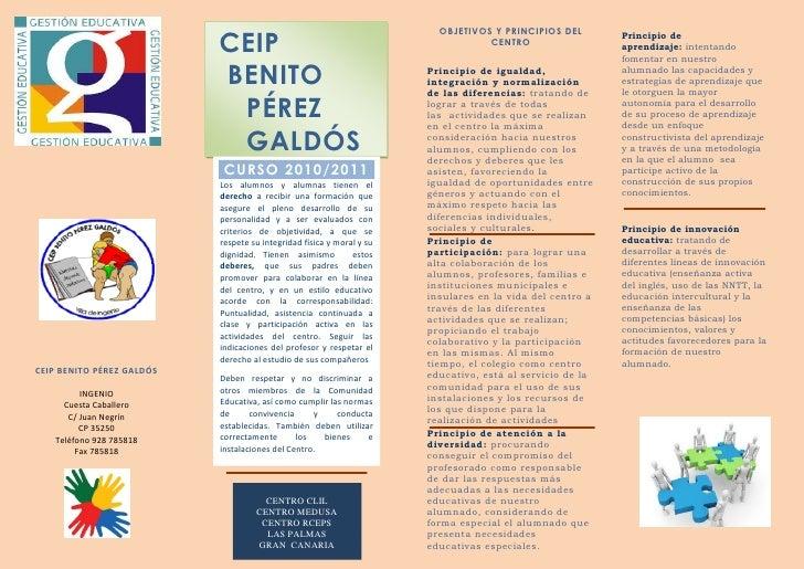 OBJETIVOS Y PRINCIPIOS DEL                            CEIP                                                   CENTRO       ...