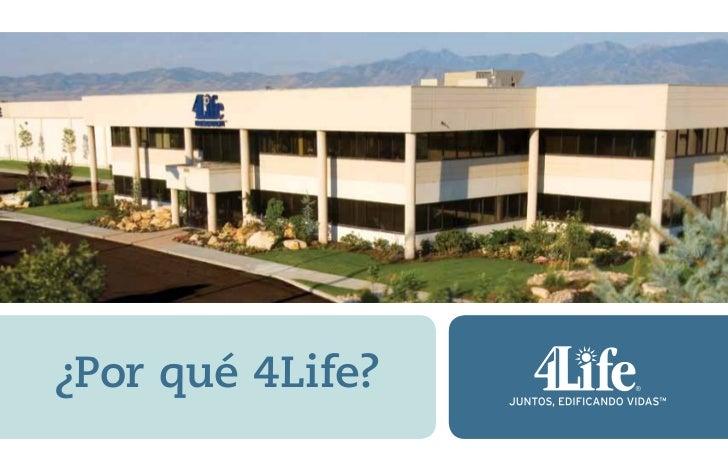 Folleto por qu+® 4 life