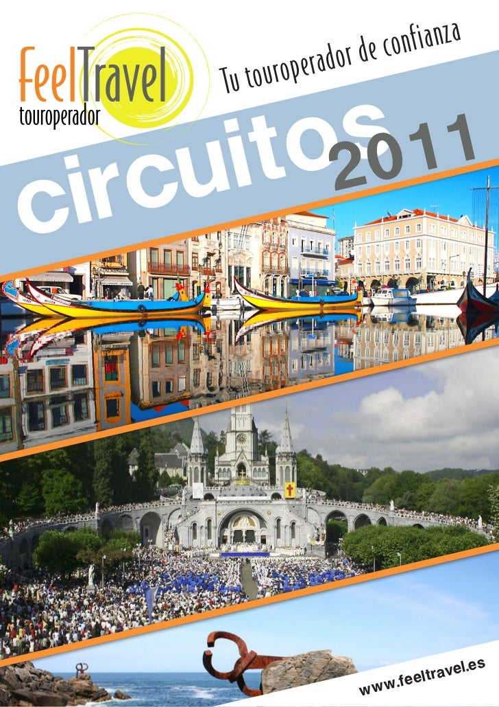 Folleto programacion 2011 FeelTravel