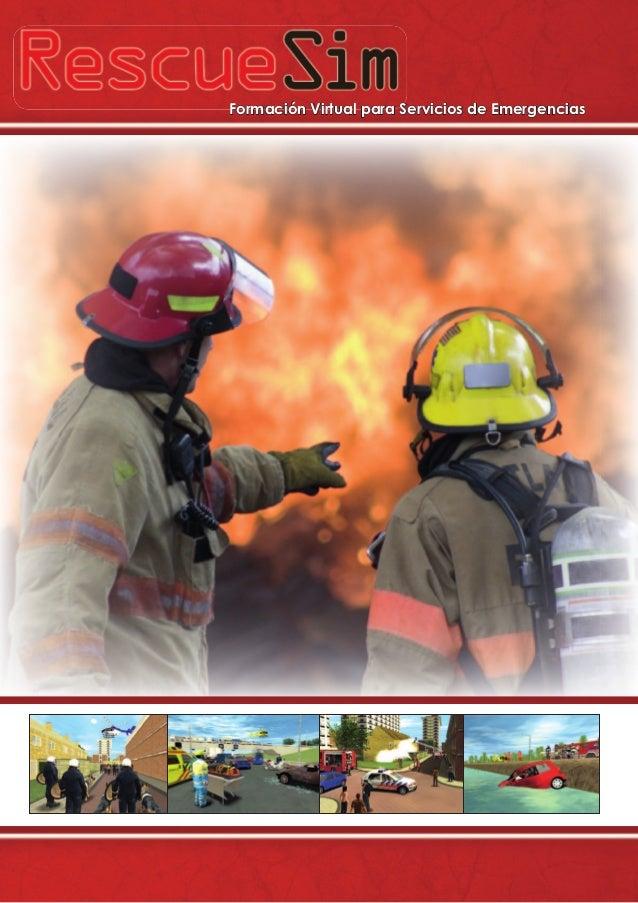 Formación Virtual para Servicios de Emergencias