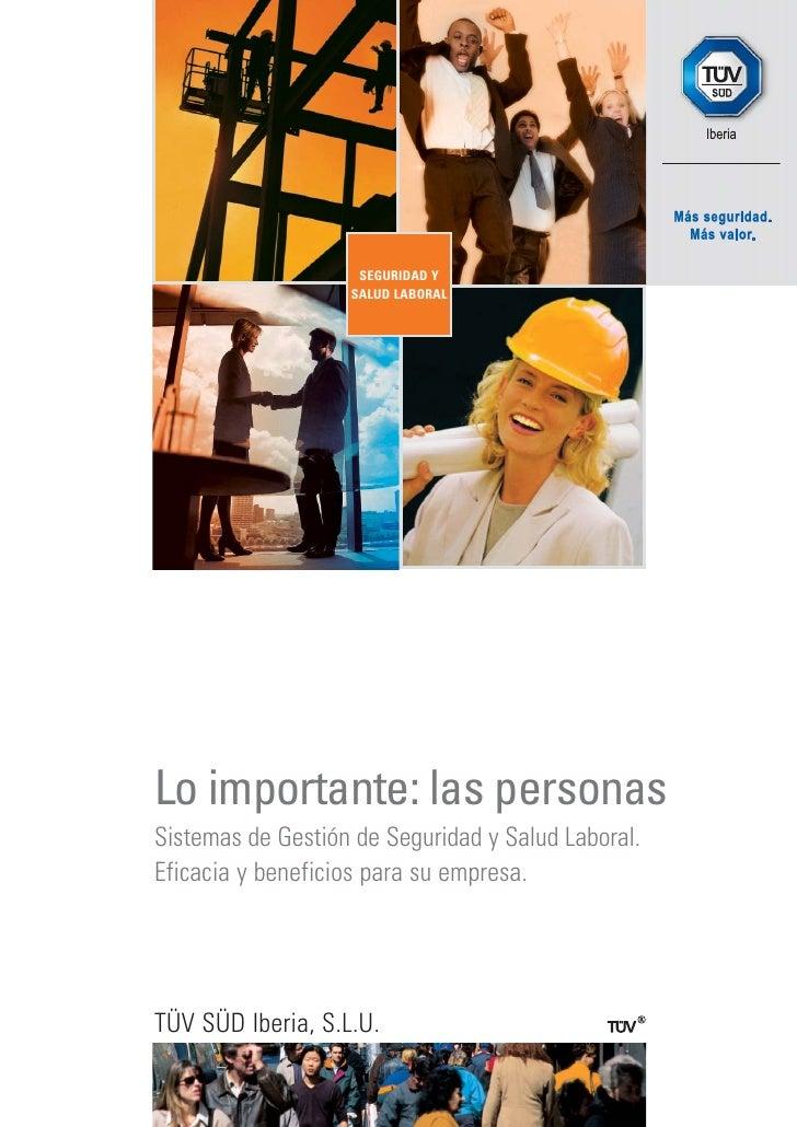 Folleto Seguridad Y Salud Laboral