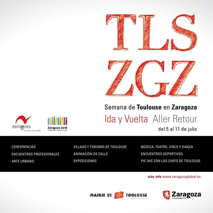 Semana de Toulouse en Zaragoza