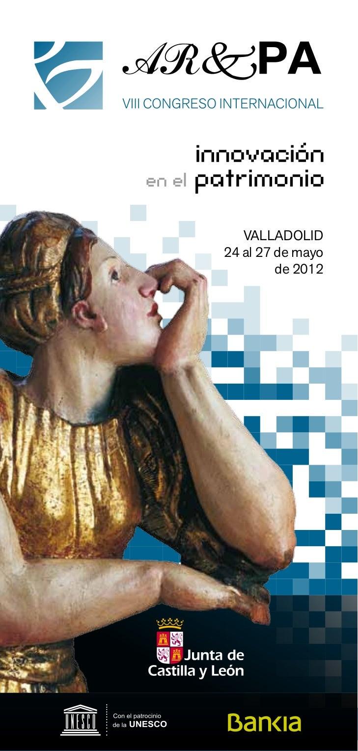 VALLADOLID24 al 27 de mayo         de 2012