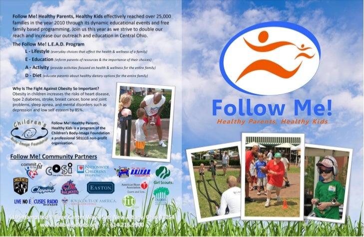 Follow Me! General Brochure With Sponsorships
