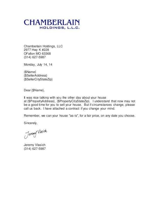 Real Estate Follow Up Letter - Apology Letter 2017