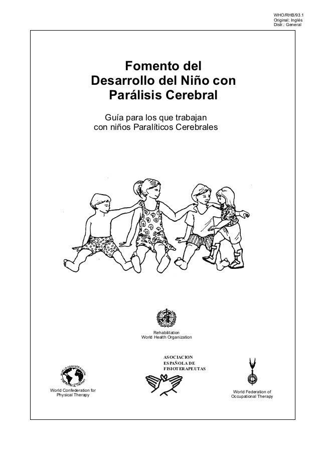 Fomento del desarrollo del niño con Parálisis Cerebral Infantil