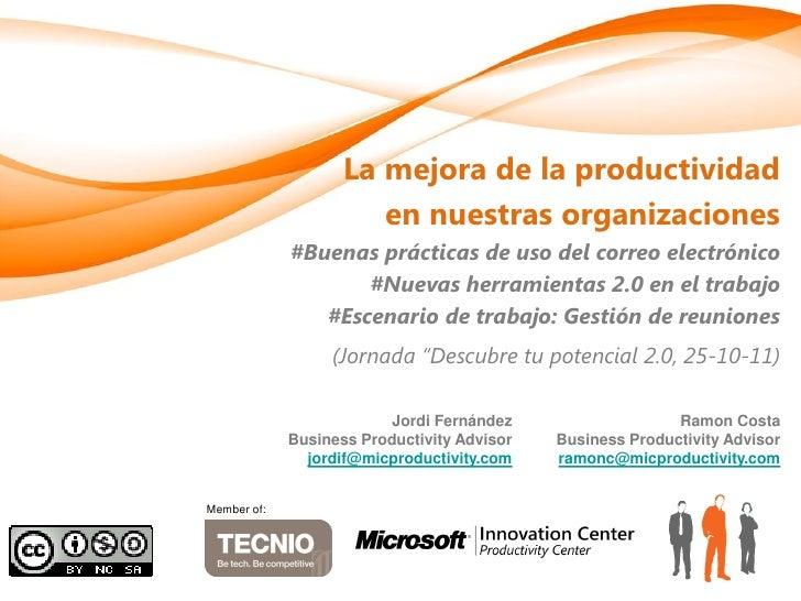 Foment treball gestioncorreoelectronico-empresa2.0-casospracticos-ramoncosta-mic-productivity-20110025