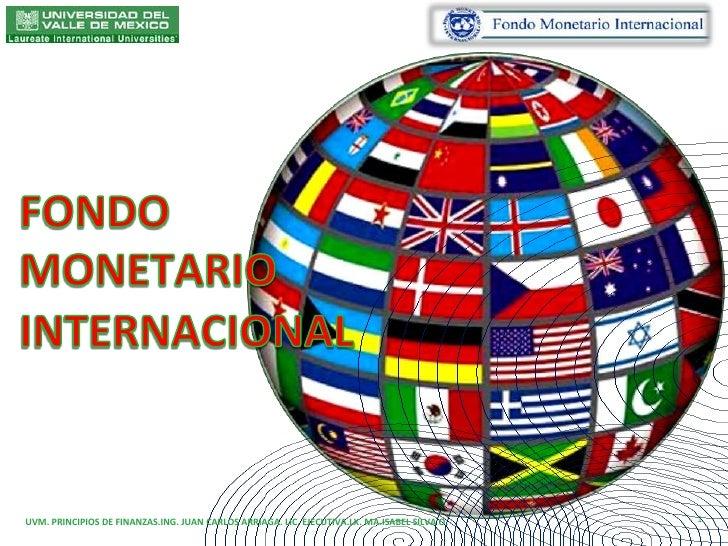 Resultado de imagen para Fondo Monetario Internacional