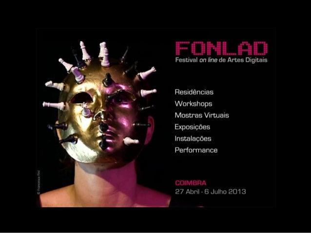 Conferência Arte Vídeo ArtVdeoConference, ESAD, Caldas da Rainha, 13 Abril April2013