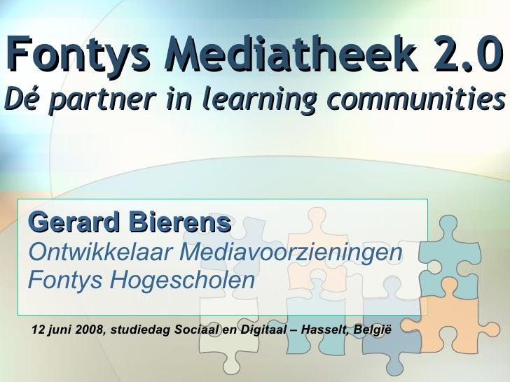Fontys Mediatheek 2.0