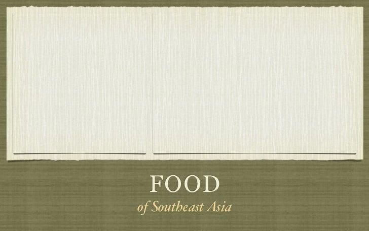FOODof Southeast Asia