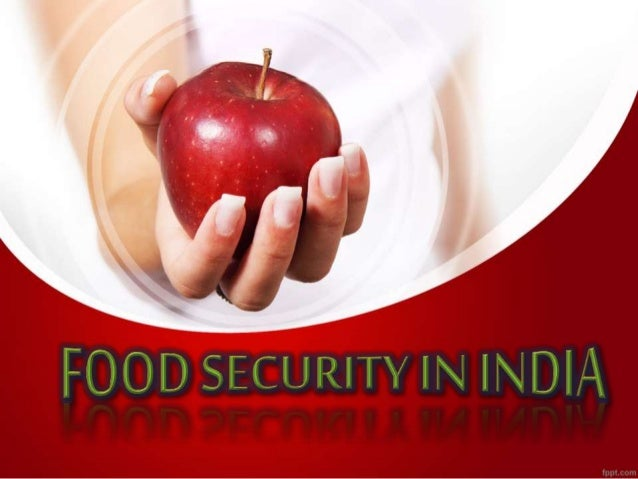 India Food Security