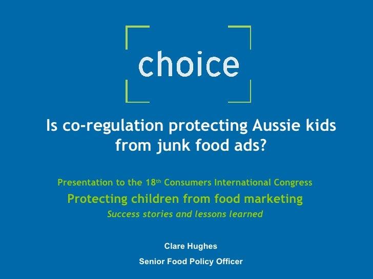Food Fringe Hughes Industry Regulation