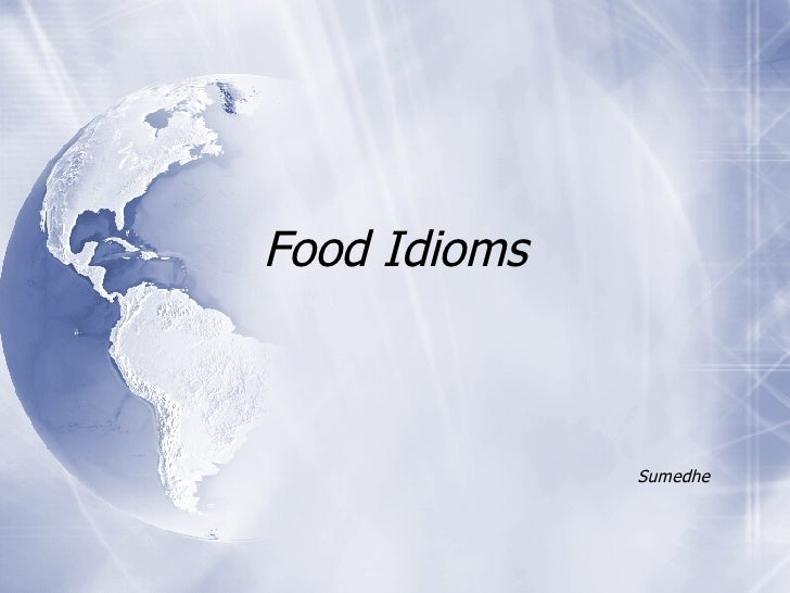 Food Idioms Sumedhe