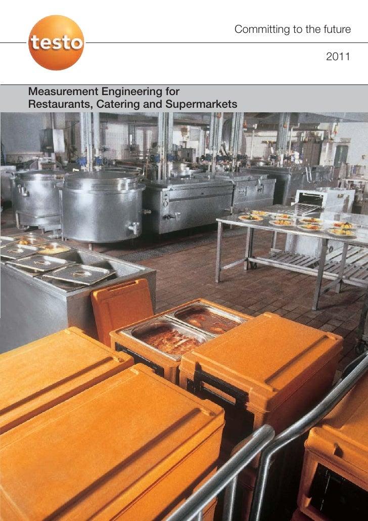 Testo - Food Safety in Restaurants