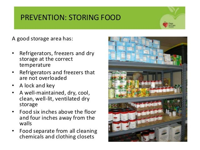 food safety hazards in drying and marinating food Storing food safely depending on the type of food storing dry food in containers shopping and food safety storing food safely storing food safely - 'use by' and 'best before' dates storing food safely - potatoes share this page feedback.
