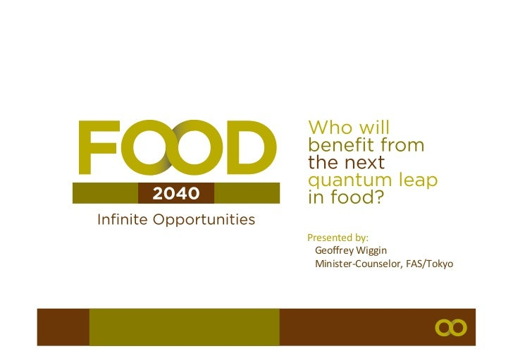 Food 2040 project overview
