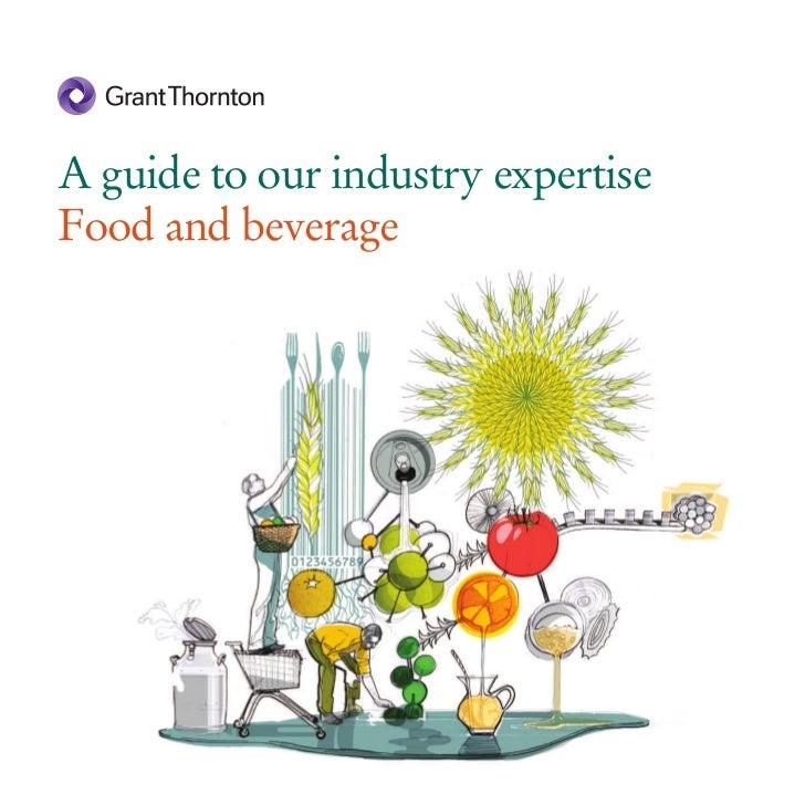 Grant Thornton - Food and beverage brochure