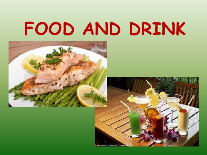 Food And Drink Vocabulary Revision Elementary