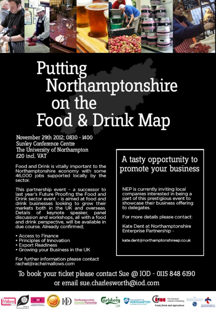 Putting Northamptonshire on the Food and Drink Map