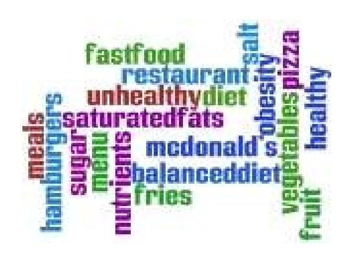 Food And Healthy