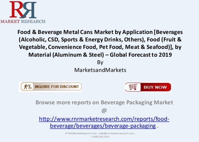 food and beverage metal can market 23 hours ago  food and beverage metal can market in north america market report provides  up-to-date market information of food and beverage metal can.