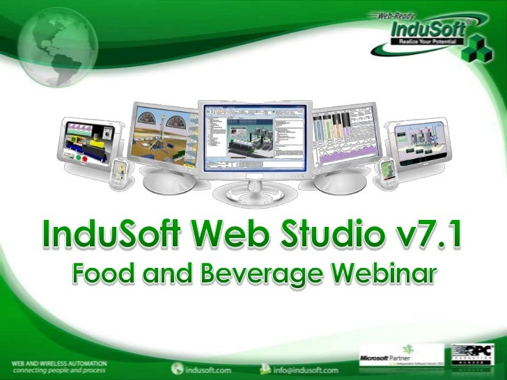 Food and Beverage Automation with InduSoft Web Studio