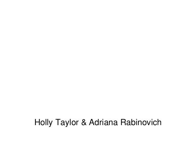 Making Gluten-Free GloriousHolly Taylor & Adriana Rabinovich