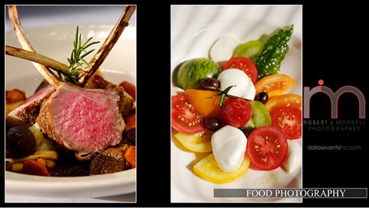 Food Photography, Dallas Events Inc Photographers