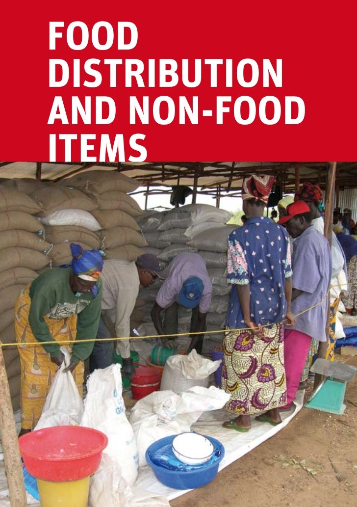 fooddistributionand non-fooditemscamp management toolkit | chapter 13 – food distribution and non-food items   387