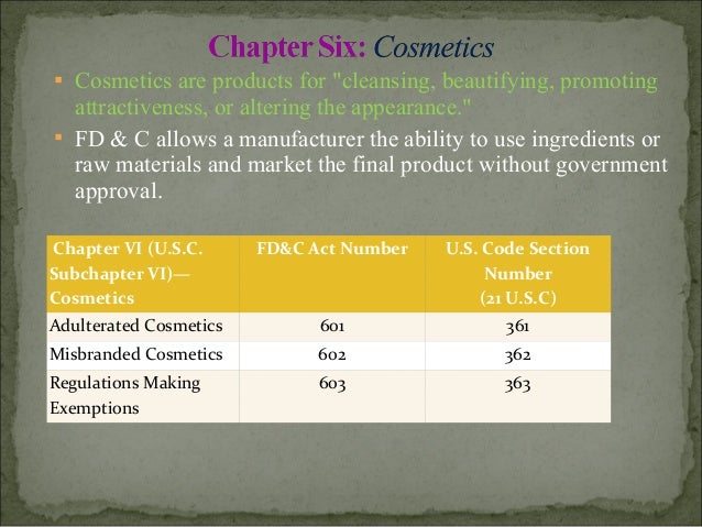 food drug cosmetic act pdf