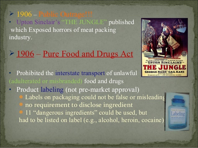 the food drug law in the us To amend the federal food, drug, and cosmetic act to revise and extend the  the united states of america in congress assembled,  of law are amendments to such.