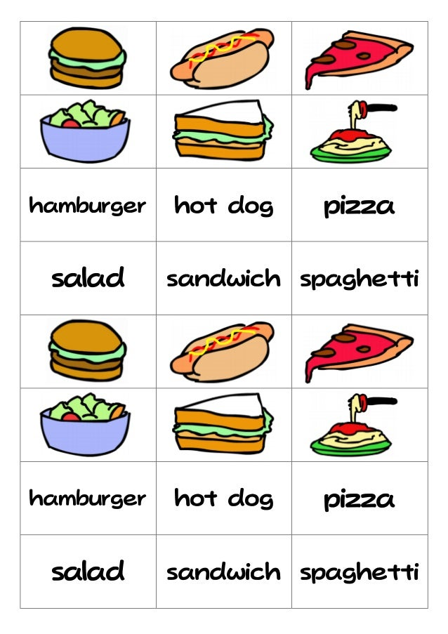 Food flashcard - Cuisine flash but ...