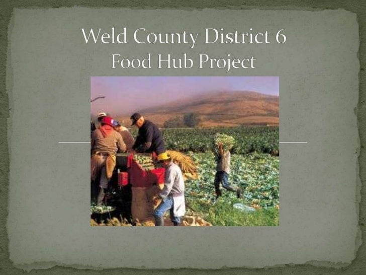 Food Hubs and Values-based Supply Chains - presentation
