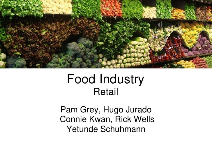 Sustainability Assessment - Retail Food industry