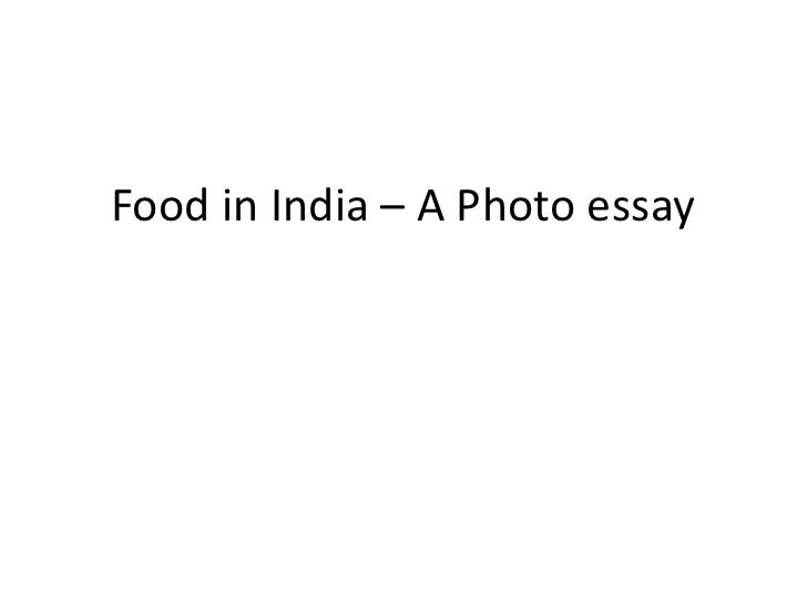 essay about india food