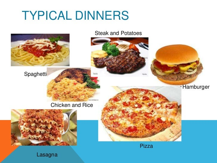 Typical food