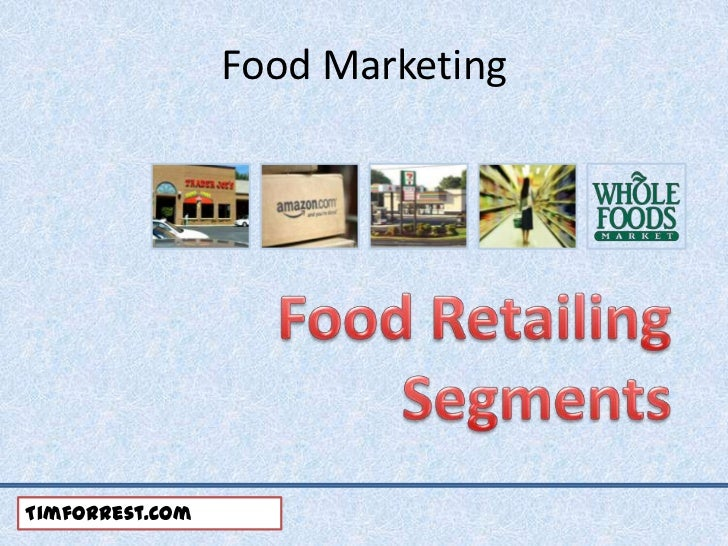 Food Marketing and Distribution Channels