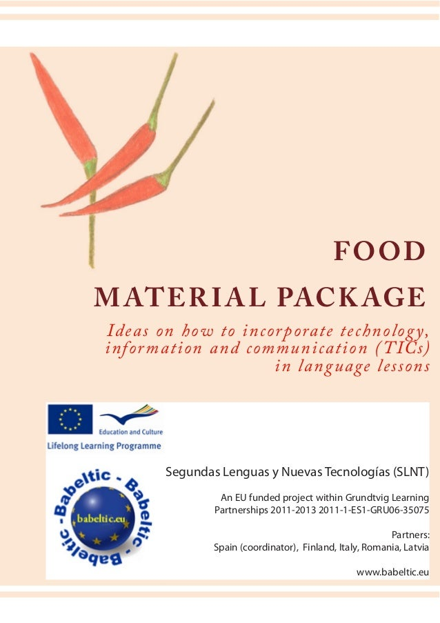 Segundas Lenguas y Nuevas Tecnologías (SLNT)An EU funded project within Grundtvig LearningPartnerships 2011-2013 2011-1-ES...