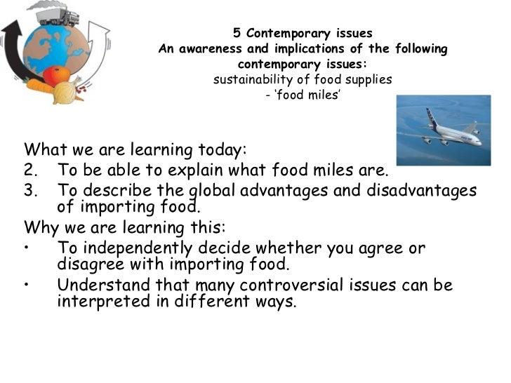 <ul><li>What we are learning today: </li></ul><ul><li>To be able to explain what food miles are. </li></ul><ul><li>To desc...