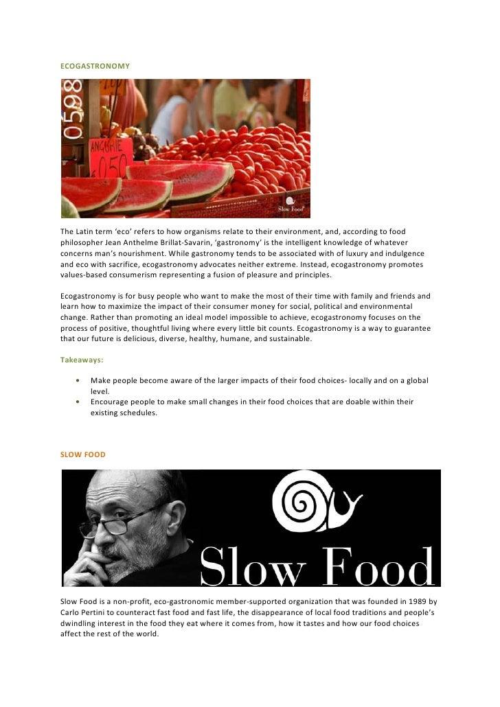 Food movements