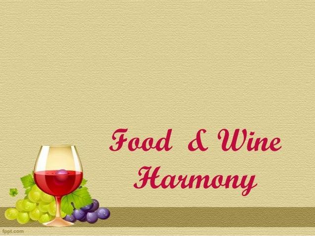 Food n wine harmony