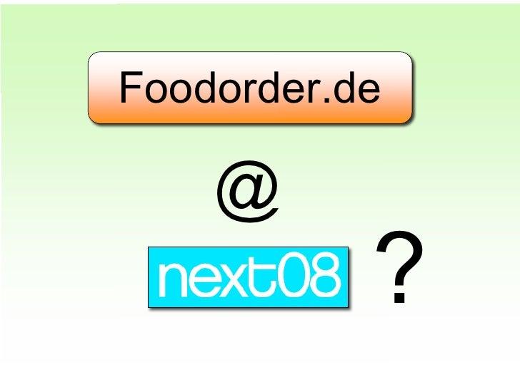 Foodorder.de      @            ?