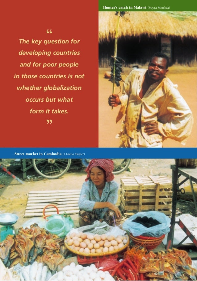"""Hunter's catch in Malawi  """"  The key question for developing countries and for poor people in those countries is not wheth..."""