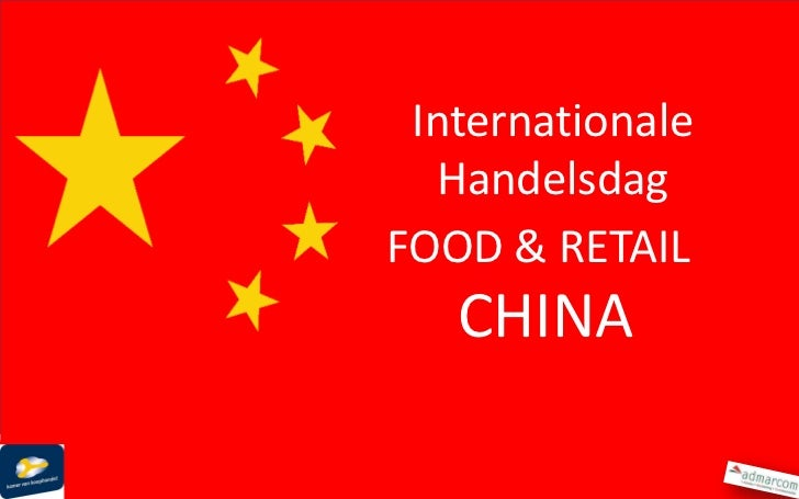 Food in China for  Dutch Chamber of Commerce